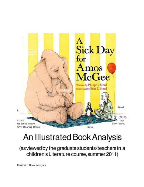 sick day for amos 1596434023 an illustrated book analysis by laurie kingsley issuu