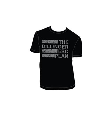 The Dillinger Escape Plan Tshirt the dillinger escape plan t shirt 272477 for only 163 18 95 at merchandisingplaza uk