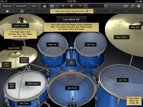 drum kit tutorial garageband drummer garageband drum kit nhpreviews