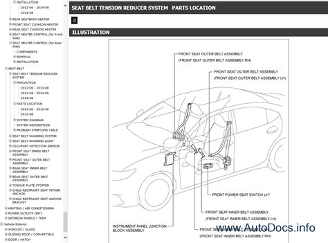 service manual 2012 lexus es workshop manual free download 1999 rx300 complete service service manual 2012 lexus es workshop manual free