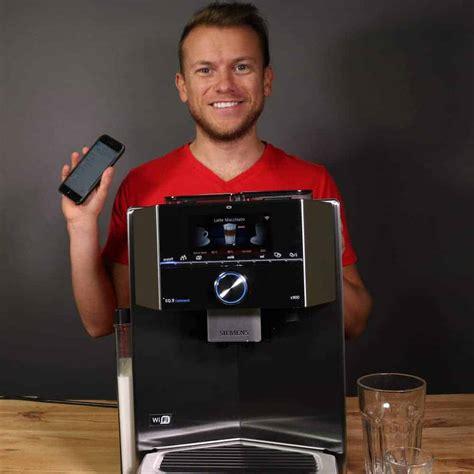 siemens kaffeevollautomat integriert siemens kaffeevollautomat eq 9 im test