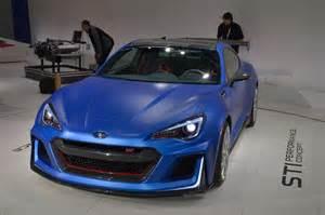 Subaru Brz St Subaru Brz Sti Performance Concept Debuts At New York Auto