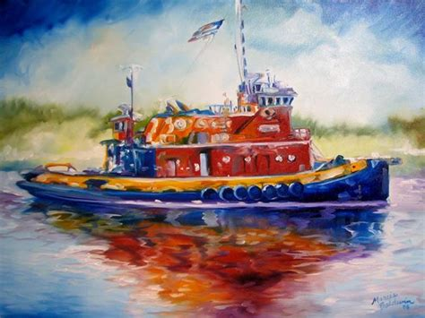 new orleans tugboat tug boat of louisiana by marcia baldwin from landscapes