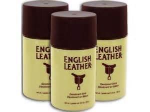 Small Patio Bbq English Leather Deodorant Stick 3 Oz 85g 3 Pack