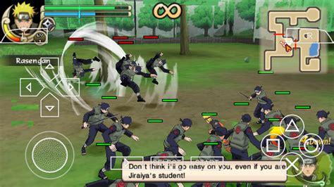 game naruto ppsspp mod naruto shippuden ultimate ninja impact psp iso free