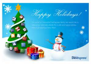 happy holidays from devexpress mehul harry s devexpress