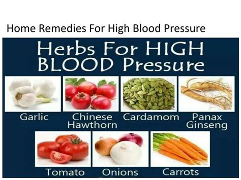 Home Remedy For High Blood Pressure by Ppt Causes Of High Blood Pressure Powerpoint