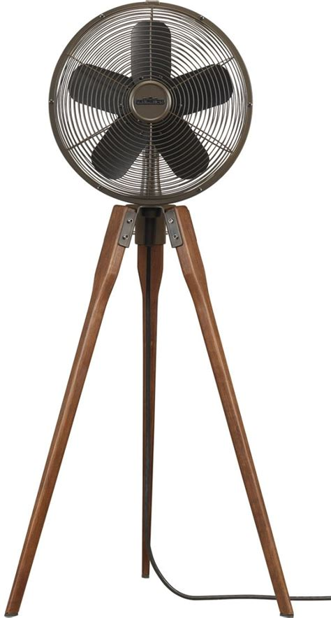 vintage look pedestal fan arden pedestal fan by fanimation