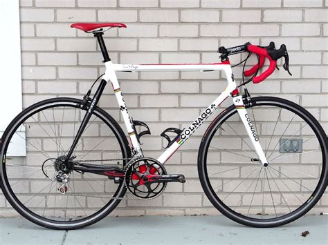 Frame Speedometer Nouvo By One Ace the paceline forum not new but newly repainted colnago
