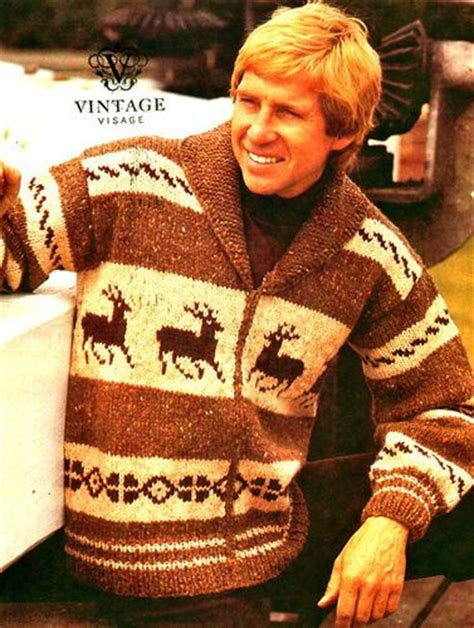 knitting pattern reindeer jumper reindeer vintage knitting and knitting on pinterest
