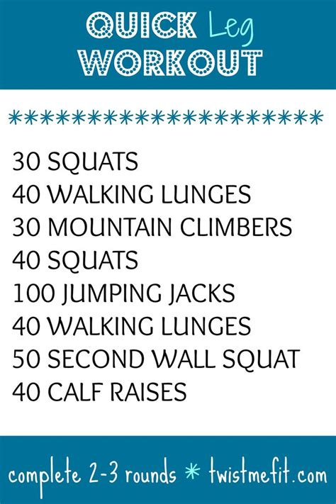 best 25 leg workout at home ideas on