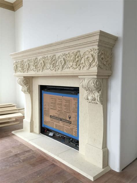 fireplace surrounds cad drawings cast gfrc