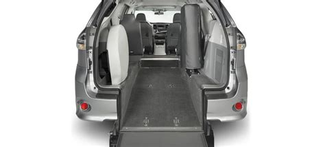 fold down bench seat for van rear entry wheelchair vans braunability