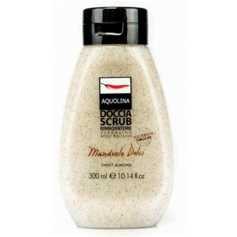 doccia scrub ideabellezza it aquolina doccia scrub mandorle dolci 300 ml