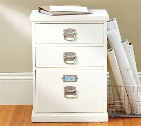 3 Drawer Filing Cabinets Cheap by Bedford 3 Drawer File Cabinet Pottery Barn