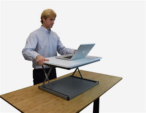 standing desk converter amazon uncaged ergonomics cdmm w changedesk mini stand up desk