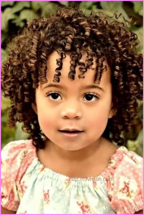 hairstyles toddlers curly hair short haircuts for little girls with curly hair