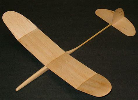 Balsa Wood Glider Plane Plans
