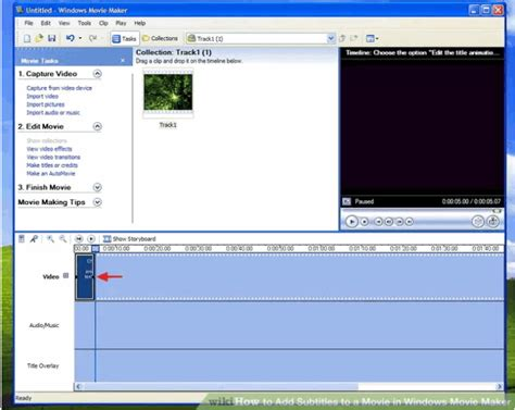 windows movie maker subtitles tutorial how to add subtitles to a movie free using windows movie maker