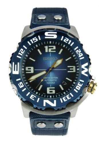Jam Tangan Seiko 0001 Banyak Warna jual seiko seiko automatic divers jam tangan pria biru