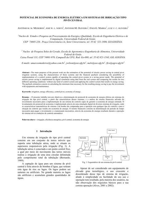 (PDF) POTENCIAL DE ECONOMIA DE ENERGIA ELÉTRICA EM