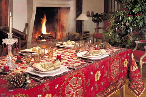 frankreich dekoration winter holidays traditional european linens and housewares