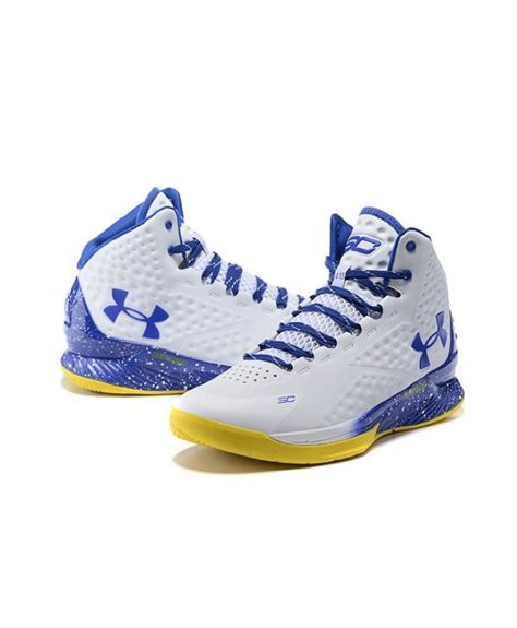 yellow armour basketball shoes armour ua curry 1 yellow blue basketball shoes