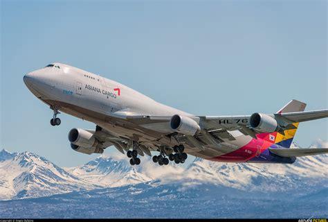 hl7620 asiana cargo boeing 747 400 at anchorage ted intl kulis air national guard