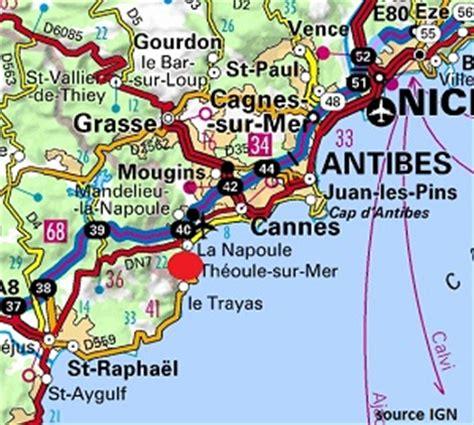 Location de vacances proche de Cannes à Théoule sur Mer Location sur la Côte d'Azur à Théoule