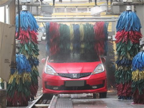 hati hati cuci berbasis robot apabila mobil anda