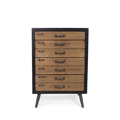 commode 4 tiroir commode vintage 4 tiroirs sol l par drawer fr