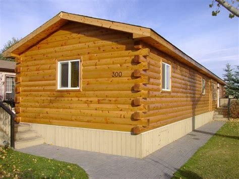 log cabin siding manufactured home studio design
