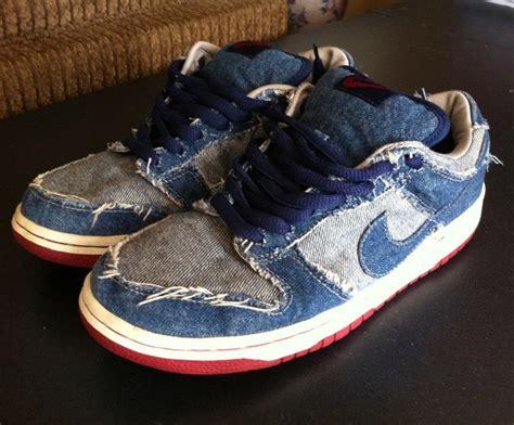 Boots Denim Galaxy nike dunk sb low pro denim 8 used galaxy concord 11 shoes ebay