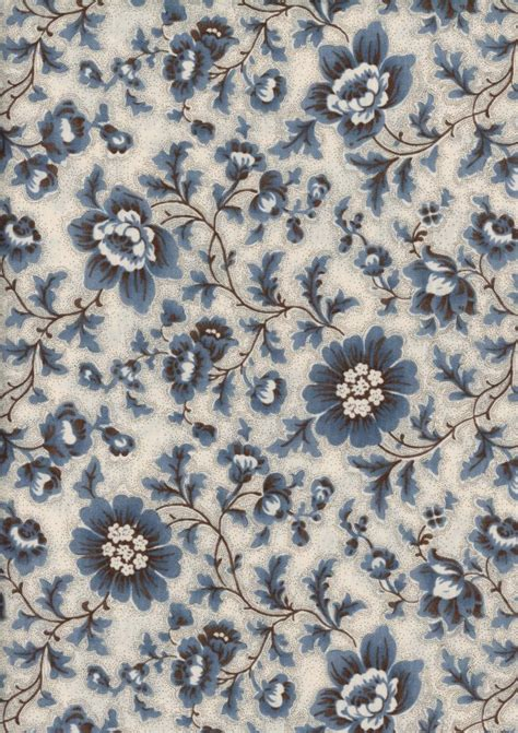 floral pattern en francais french general le bouquet francais blue floral