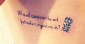 doctor who quote tattoos doctor who tattoo ideas