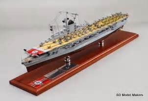 ww2 german aircraft carrier model kms graf zeppelin sd