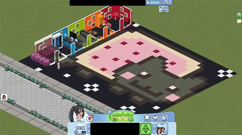 What Does Color Mean The Sims Social Pic Of The Day Nyan Cat House By
