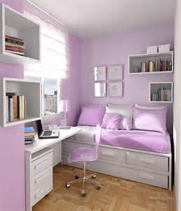 delightful Room Theme Ideas For Teenage Girl #2: very-small-teen-room-design-5.jpg