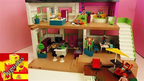 dollhouse 2 by amour tour por la villa de lujo de playmobil