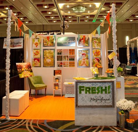 vendor display ideas bridal show booth colorful fruit stand theme bridal