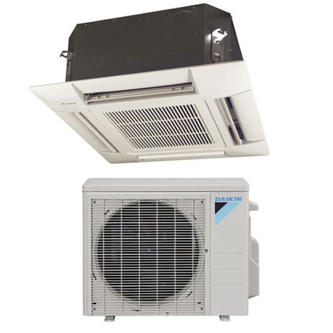 Ac Daikin Cassette ductless heater and air conditioner ductless heat