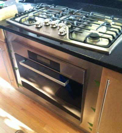 oven without cooktop how to add a stove without changing your kitchen stove