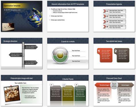 powerpoint examination template