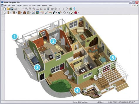 Home Design Software - designing your home with the free home design software