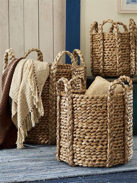 baskets for home decor best 25 basket decoration ideas on pinterest home decor