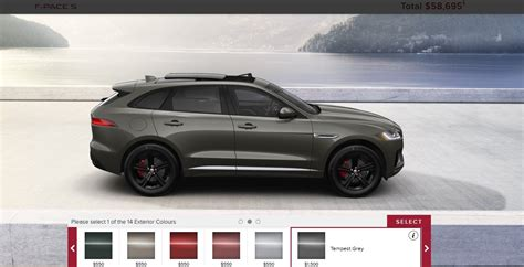 jaguar colors 5 1s 2017 jaguar f pace suv usa photos colors wheels
