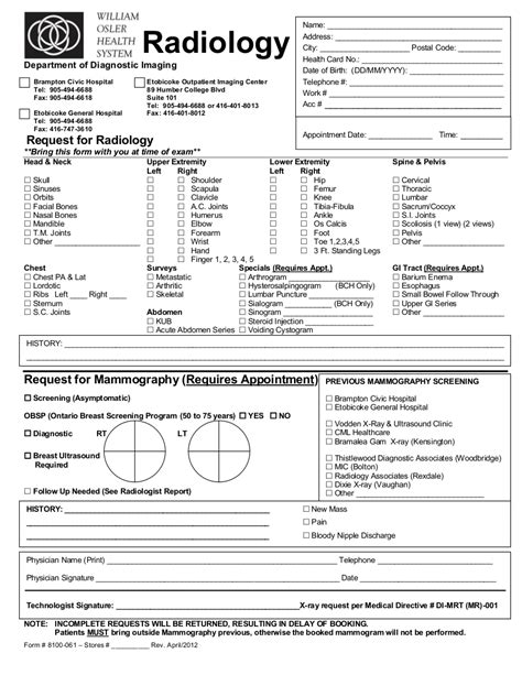 sle test data template mri scan form mri treatment form st joseph s mri 2011 juno