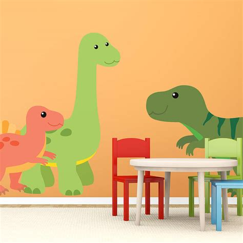 dinosaur stickers for walls add historic learning to your kid s room with dinosaur wall stickers in decors