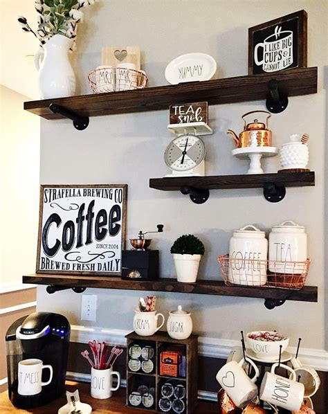 Cute Kitchen Canisters diy coffee station ideas home coffee bars ideas amp pictures