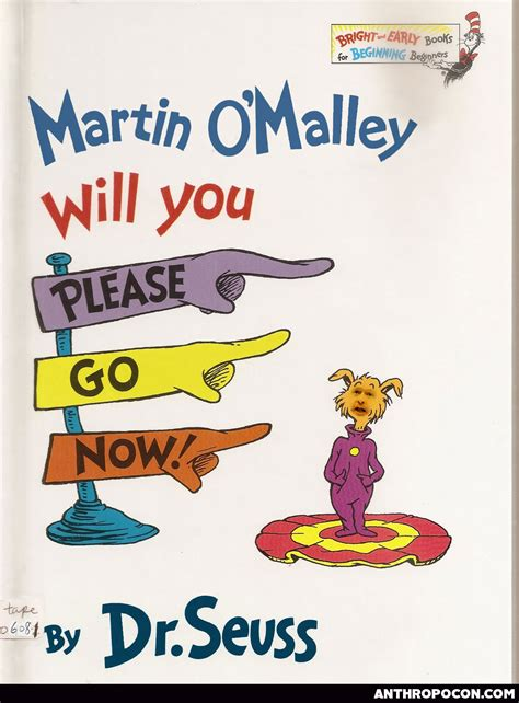 dr seuss picture books martin o malley will you go now dr suess a